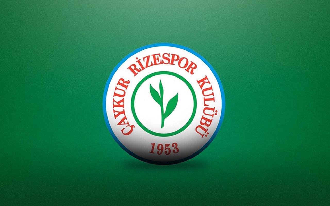 Çaykur Rizespor'dan TFF'ye başvuru