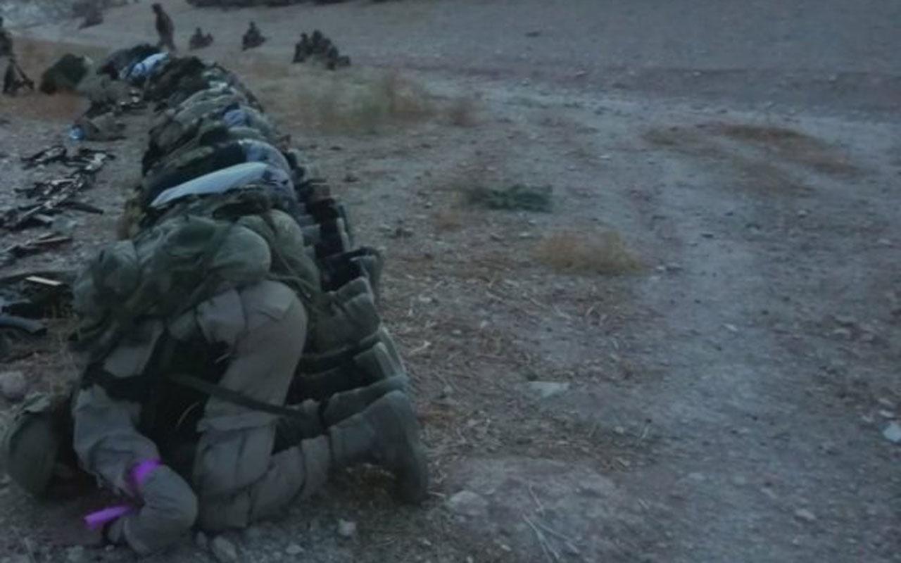 Suriye Milli Ordusu Esad'a operasyon başlattı çatışmalar öncesi namaz