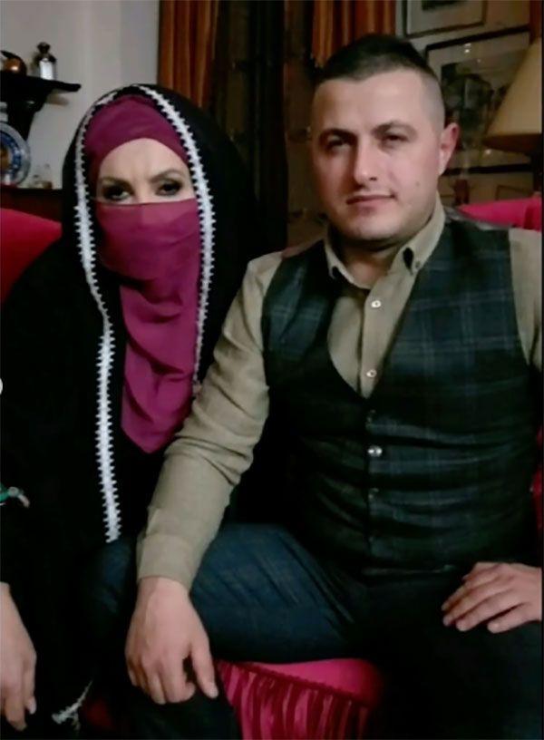 Seyhan Soylu (Sisi) çarşaf giyip peçete taktı eşi bakın kim çıktı