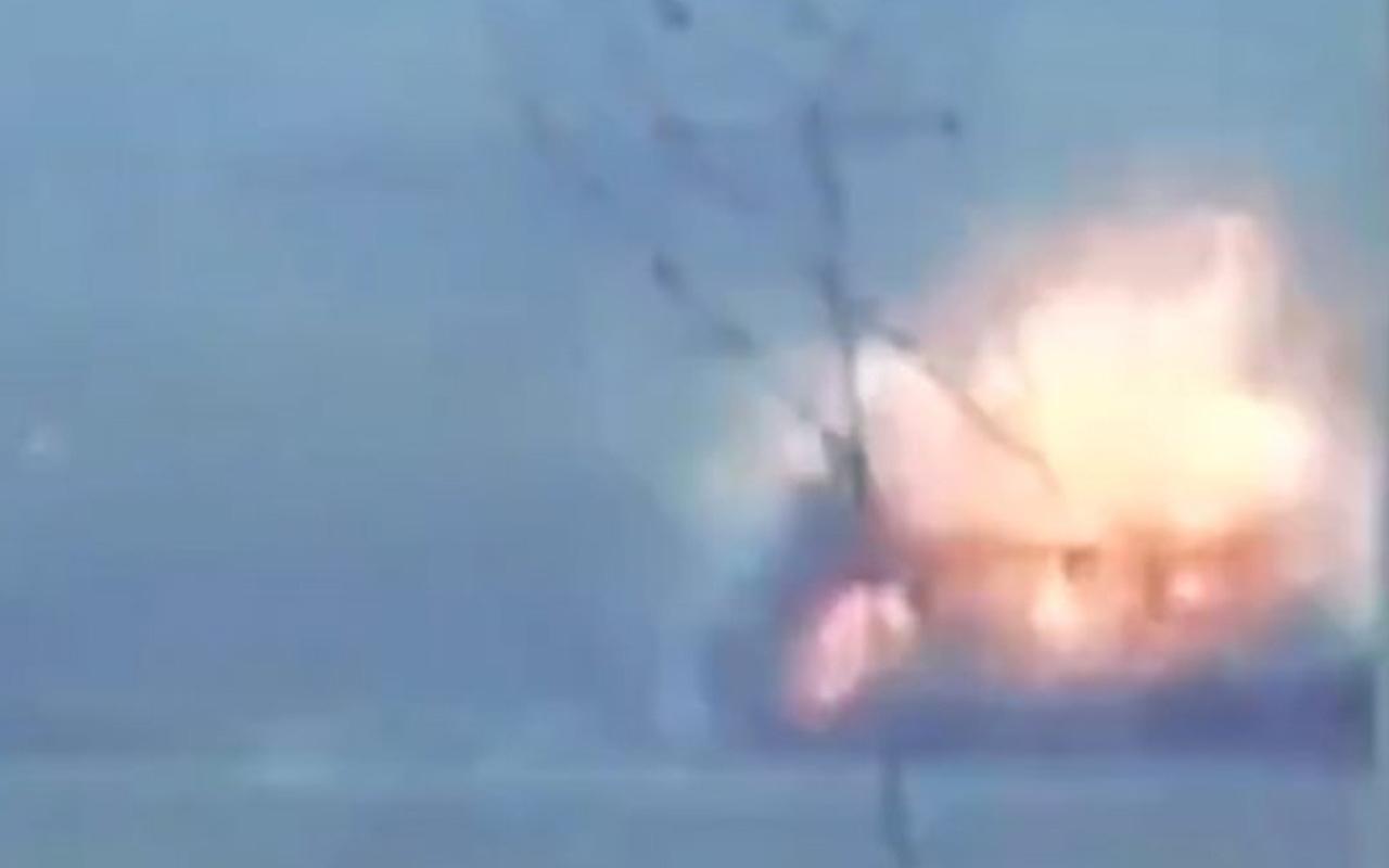 TSK jetleri Suriye Milli Ordusu rejim askerlerini böyle vurdu!