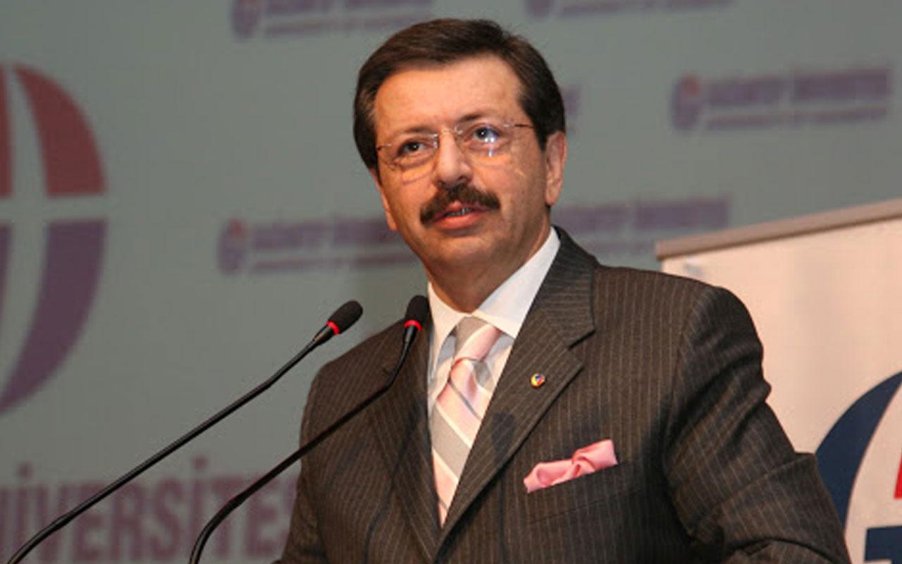TOBB Başkanı Rifat Hisarcıklıoğlu'ndan Erdoğan'a 'Kısa Çalışma Ödeneği' çağrısı!