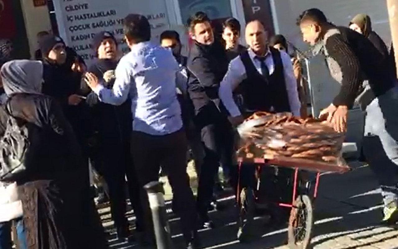Arnavutköy'de zabıtaya kızan esnaf tüm simitleri satın aldı