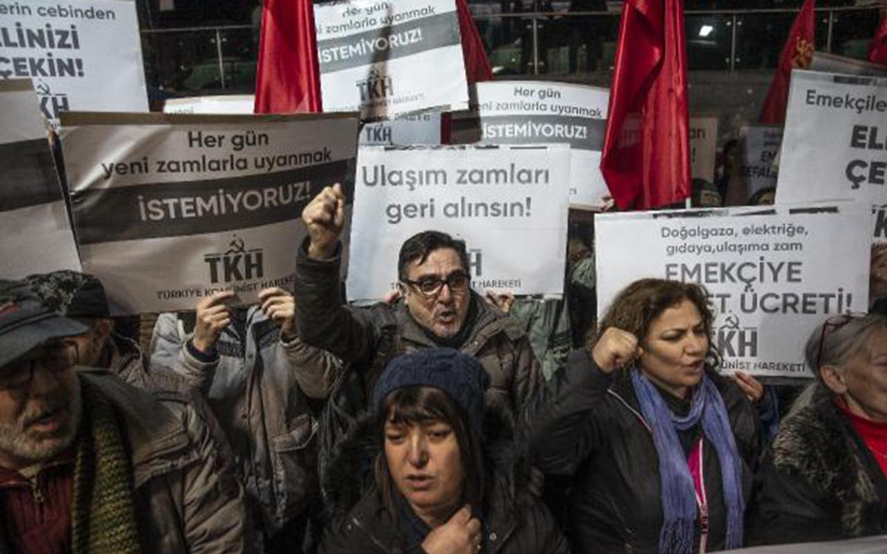 Ekrem İmamoğlu'na zam protestosu be sefer kendi mahallesinden