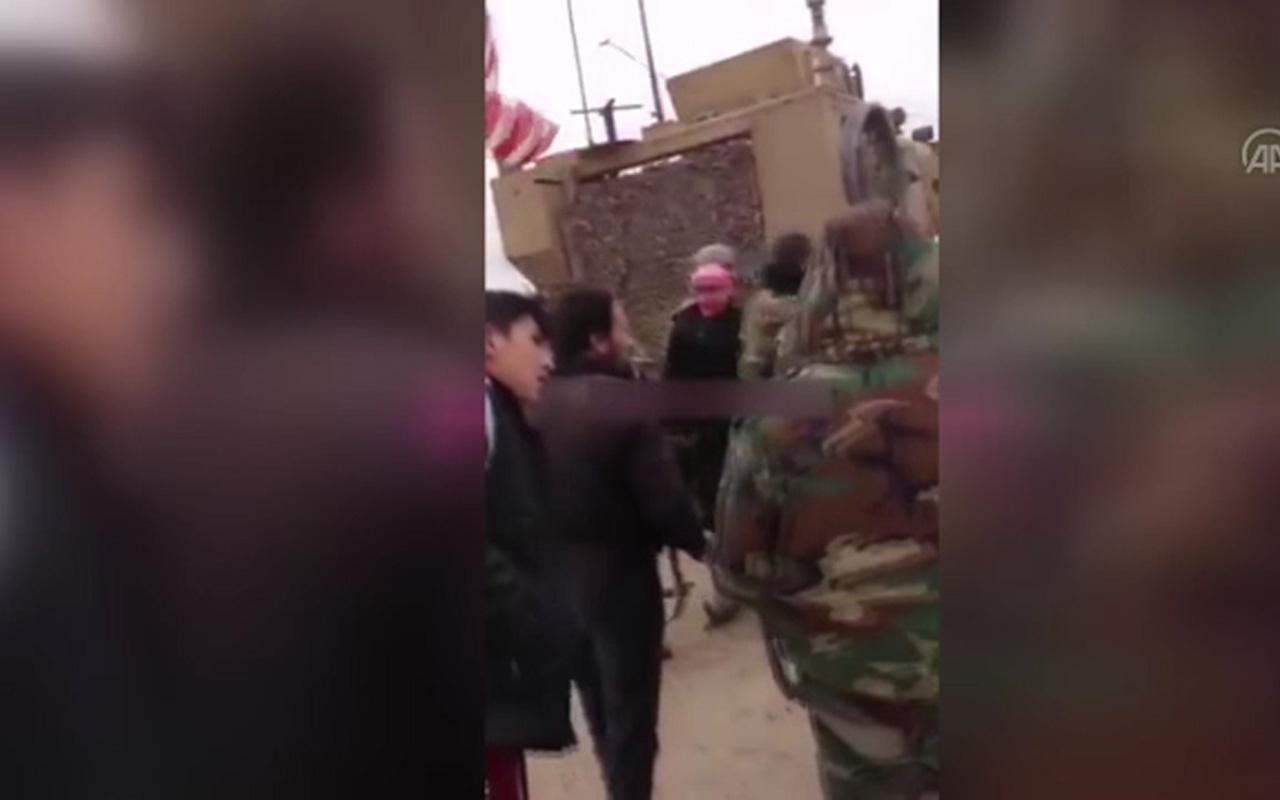 ABD Kamışlı'ya saldırıda bulundu! Esed askerleriyle birbirlerine saldırdılar