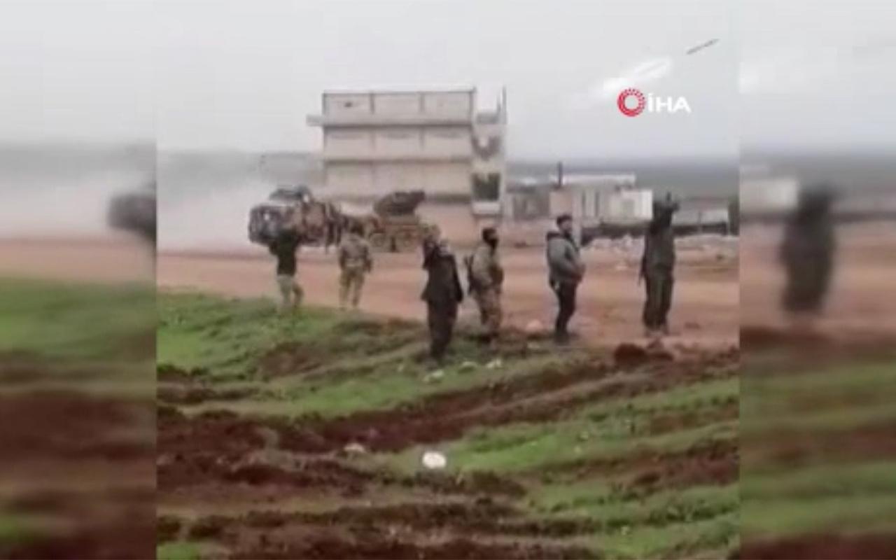 TSK Halep'te Esad rejimi hedeflerini vurdu