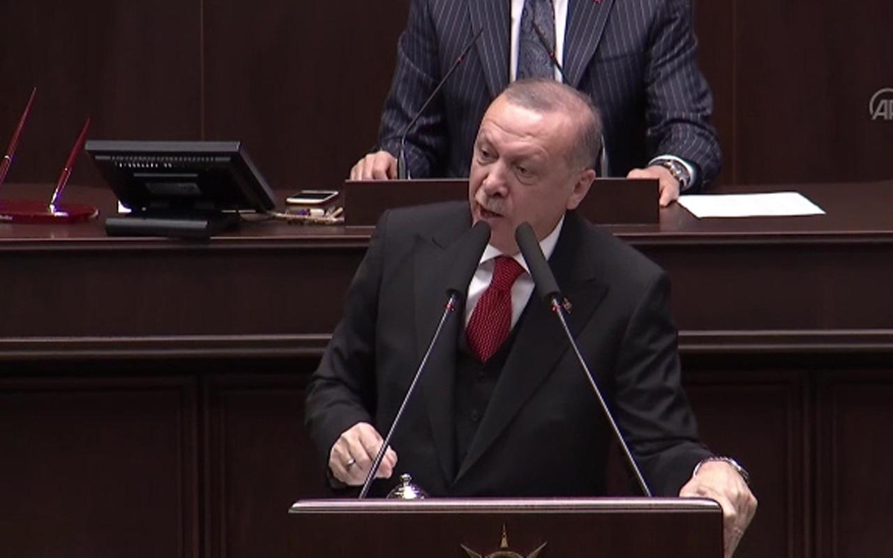 Erdoğan 'FETÖ'nün siyasi ayağı CHP' başlıklı videoyu izletti