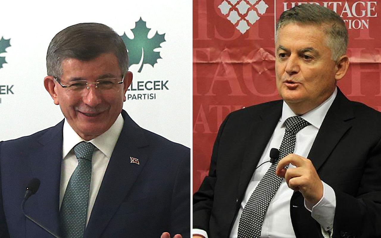 Ahmet Davutoğlu bol keseden salladı Ahmet Zeki Üçok cevabı yapıştırdı