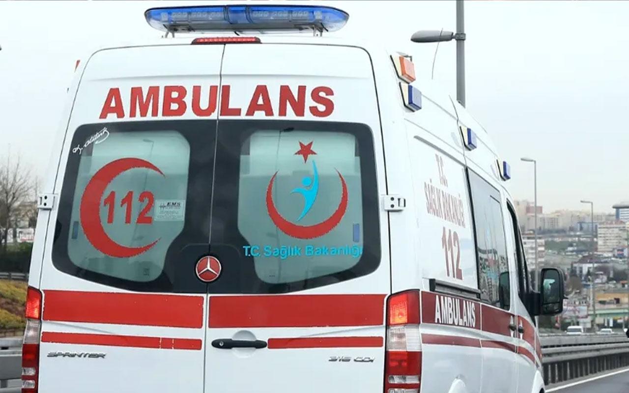 İzmir'de feci kaza! 4 kişi hayatını kaybetti 8 kişi de yaralandı