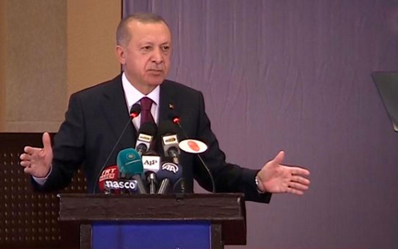 Erdoğan'dan Pakistanlılara sitem! Batıyı tercih ediyorsunuz alışkanlığınızı değistirin