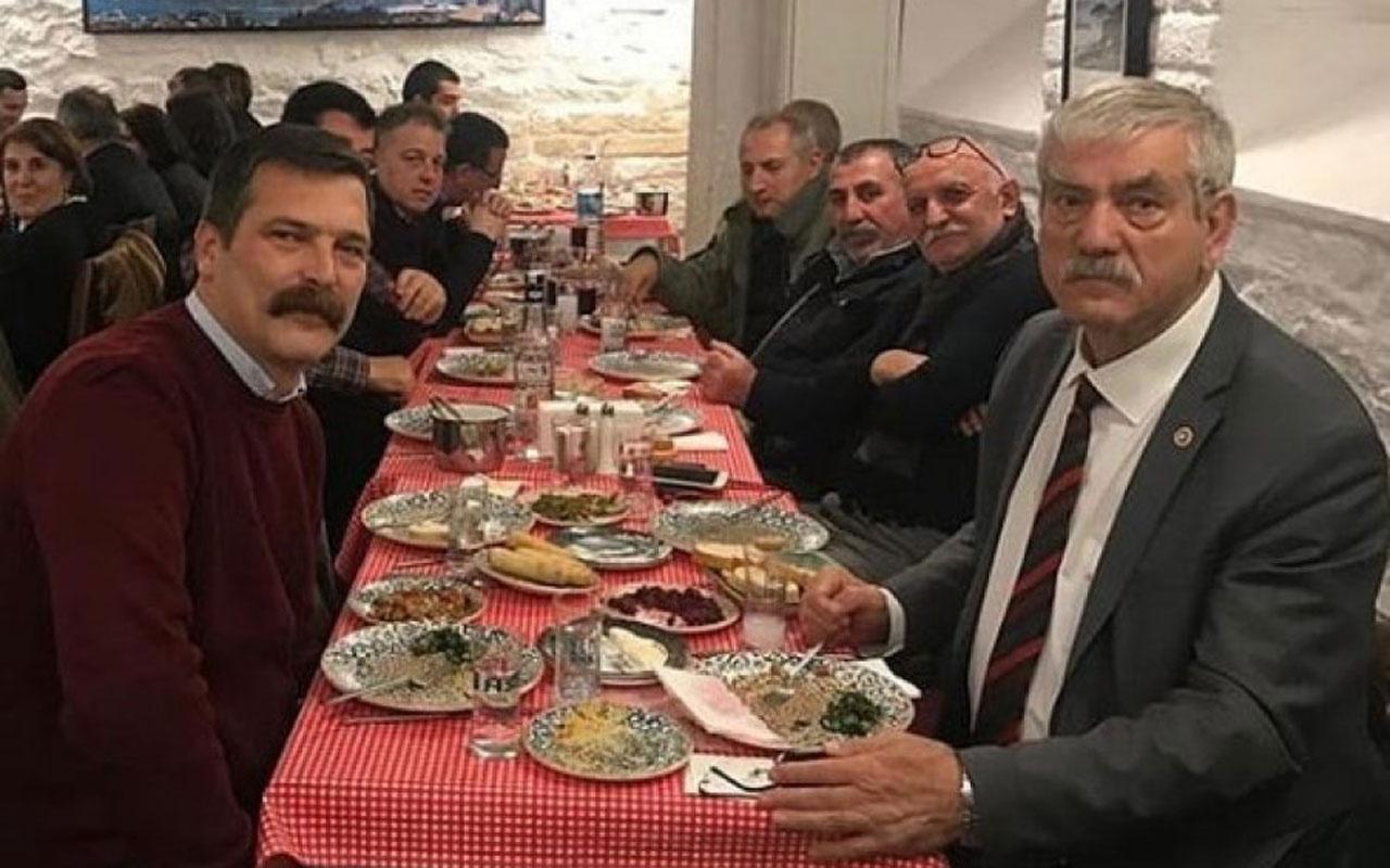 Ahmet Şık'ın meyhanede sendika kutlaması
