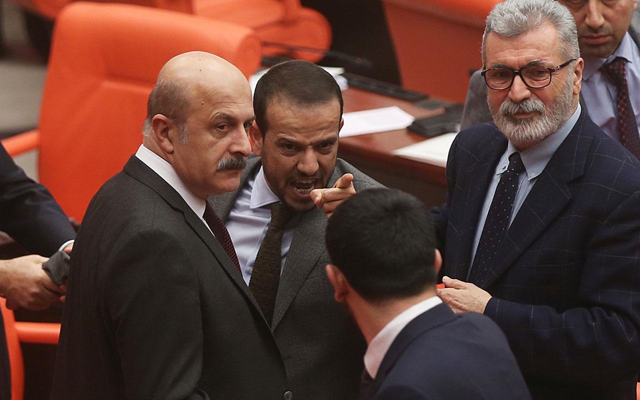 TBMM'de kavga! HDP'li Mensur Işık'a bir birleşim ceza verildi