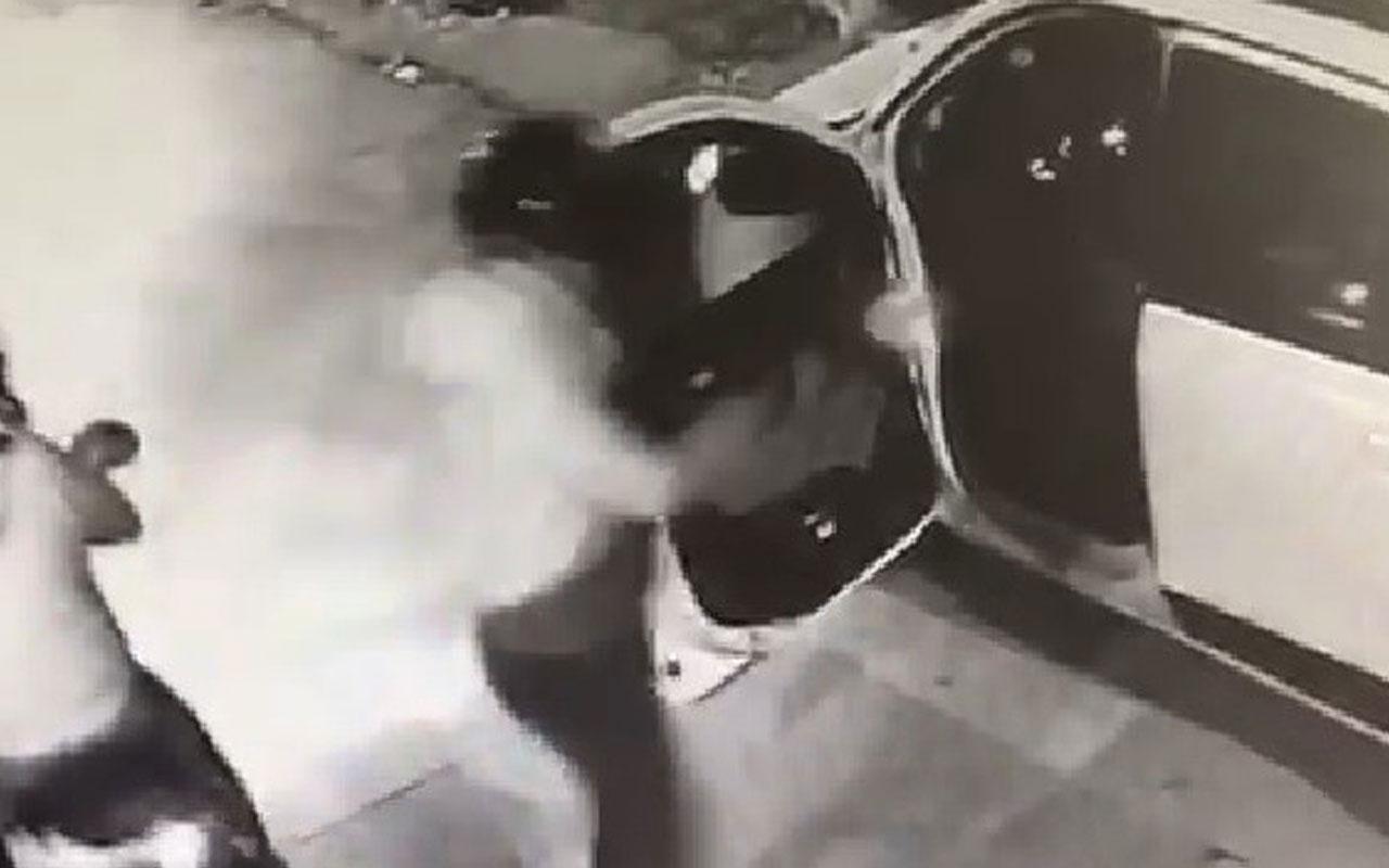 Balıkesir'de taksiciye kanlı saldırı kamerada!