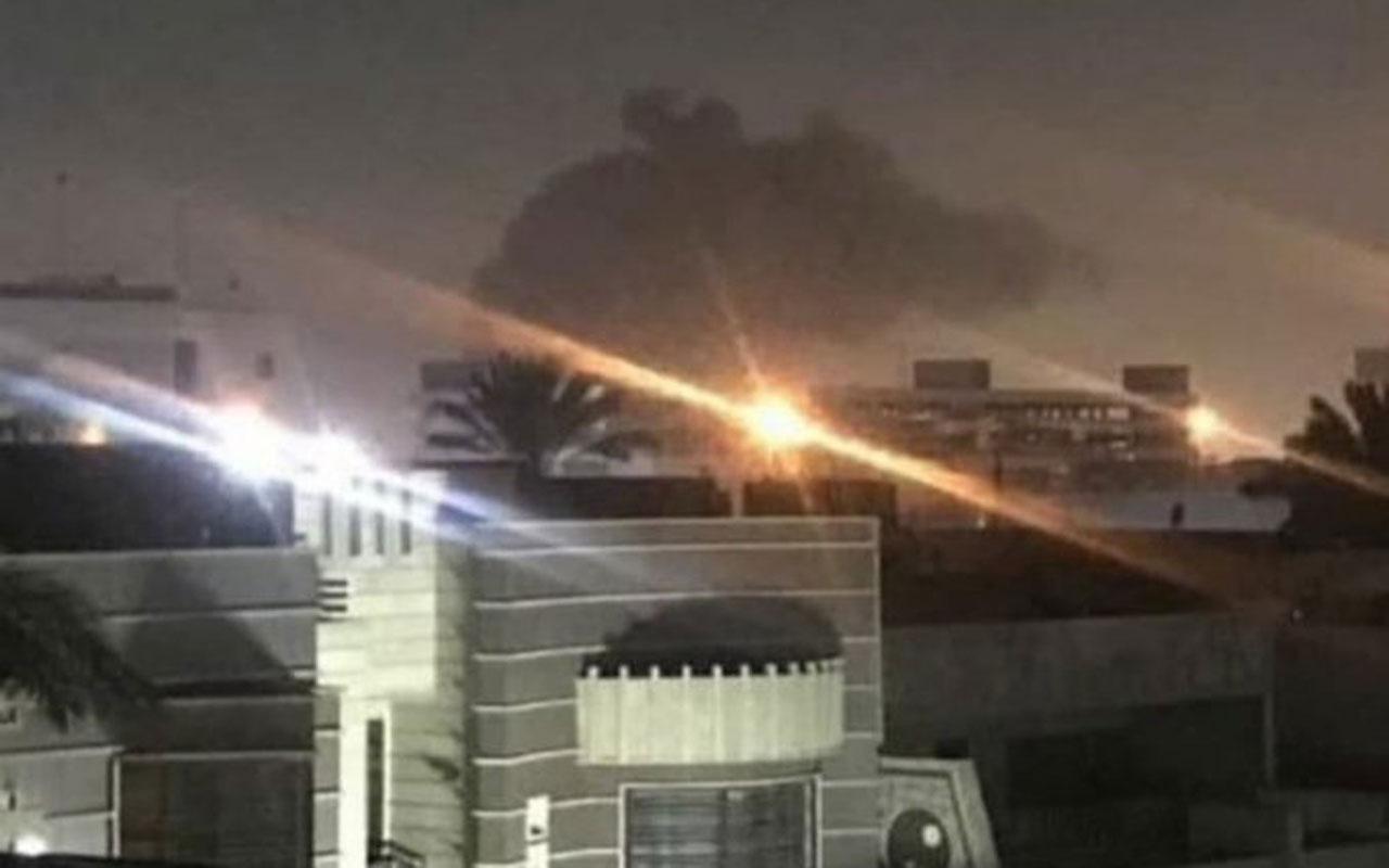 ABD'nin Bağdat Büyükelçiliği yakınına füze düştü