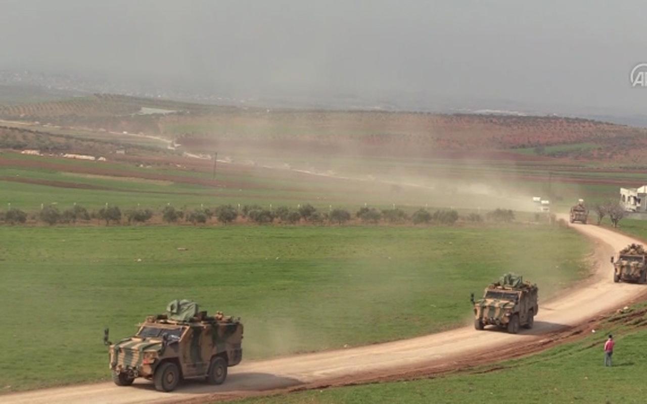 Askeri konvoyun geçişinde Fetih Süresi okundu!
