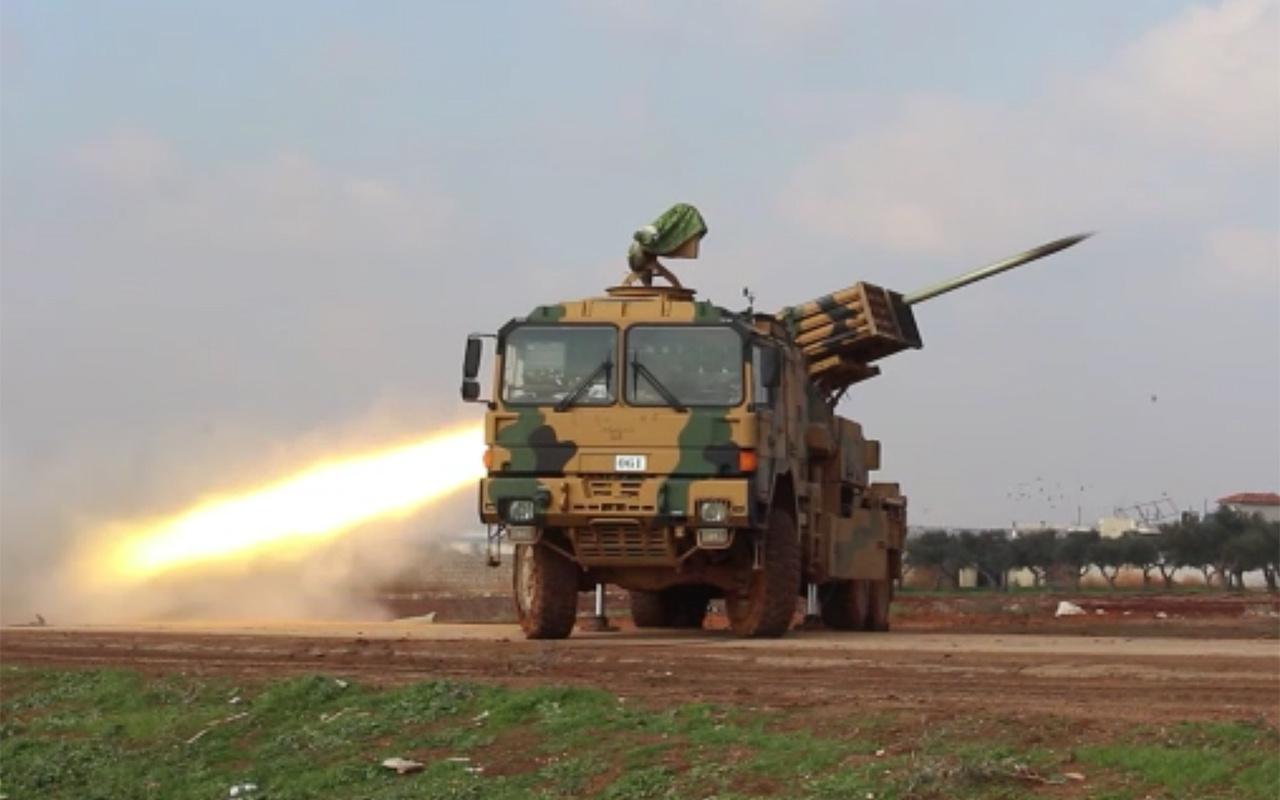 Halep'te ilerleyen rejim güçlerine karşı operasyon