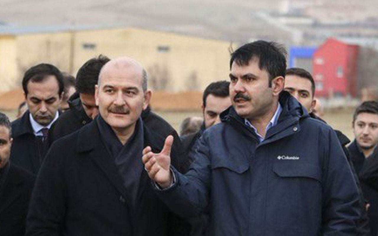 Süleyman Soylu Harput'a yerleşti Ankara'ya dönmesi zor olacak