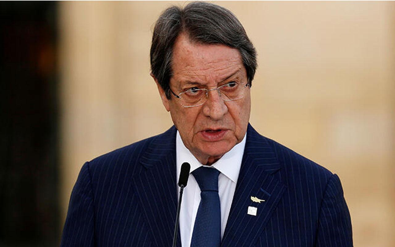 Rum lider Nikos Anastasiadis'tan küstah açıklama! Gerekirse Türkiye ile savaşırız