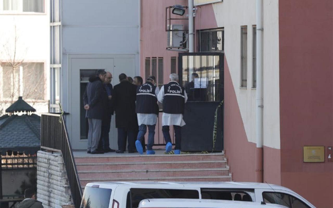 Ankara'da okulda silahlı saldırı müdürü vurdu aynı silahla intihar etti