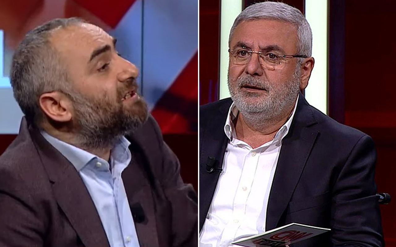 Mehmet Metiner İsmail Saymaz'ın FETÖ tweetlerini gösterince ortalık karıştı