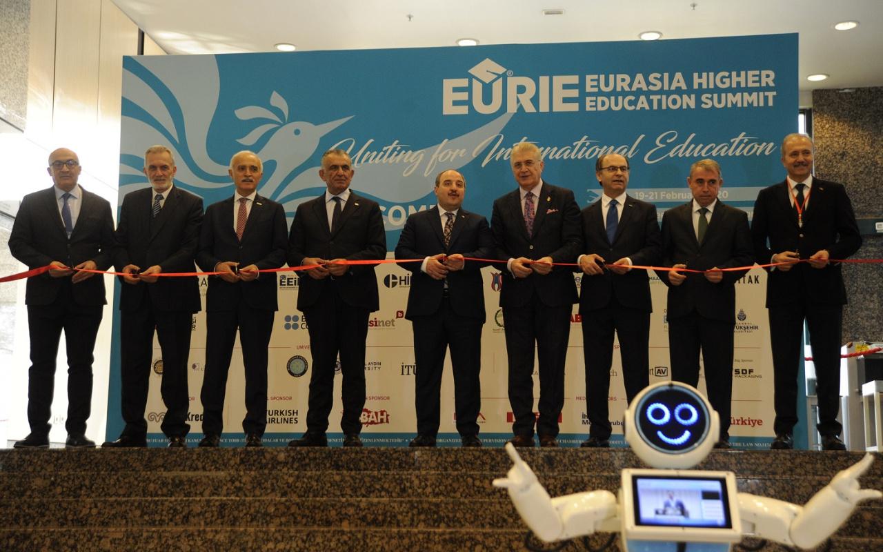 İstanbul'da eğitim zirvesi! 60 ülkeden 600 üniversite geldi