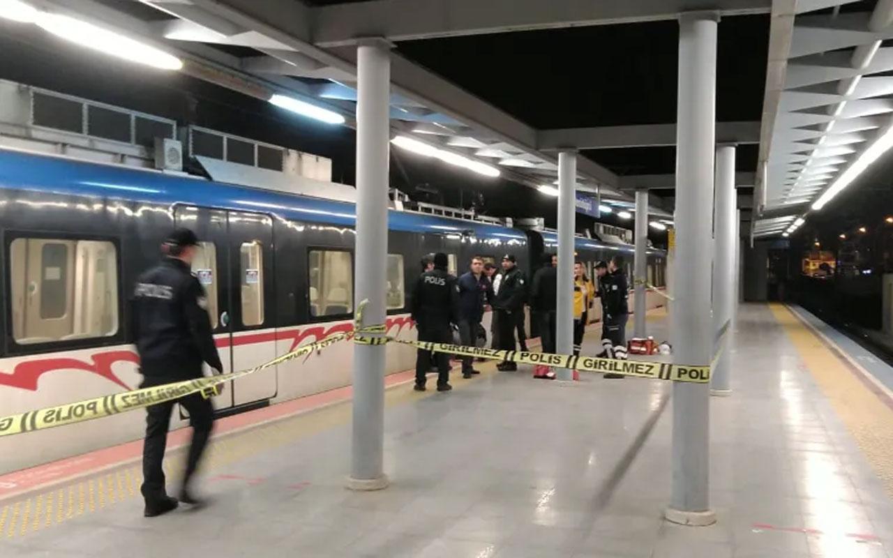 Bu sefer olayın adresi İzmir! Metro hattına atlayan kişi feci şekilde can verdi