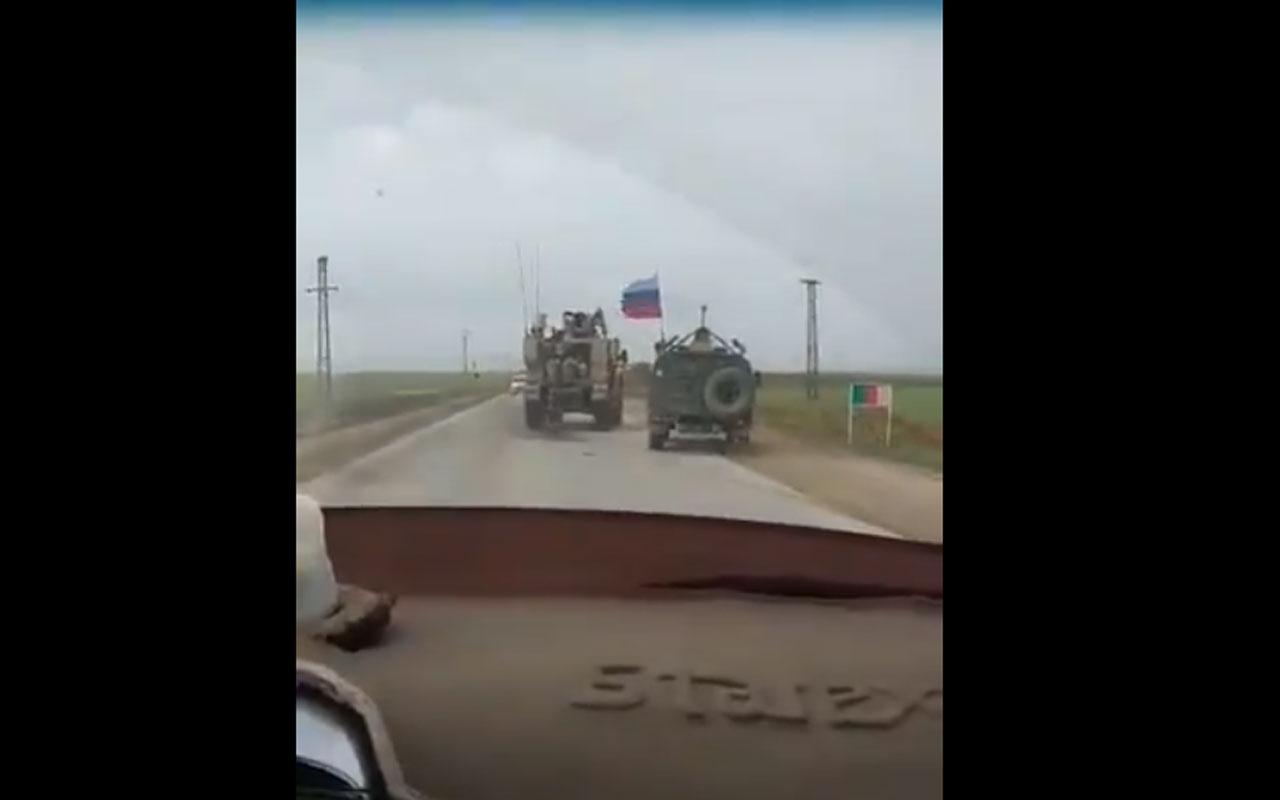 Suriye'de ABD ve Rus askerlerinden it dalaşı
