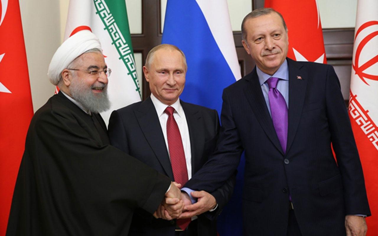 Kremlin açıkladı! Putin Erdoğan ve Ruhani zirvesi için çalışma yapılıyor