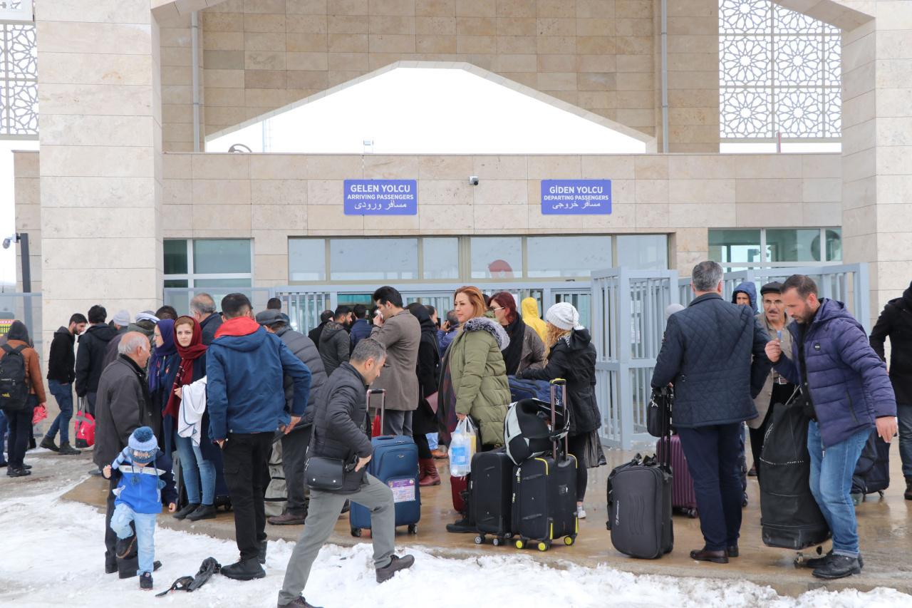 kapıköy sınırı iran türkiye virüs