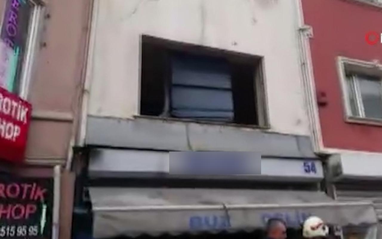 Beyoğlu'nda korkutan patlama