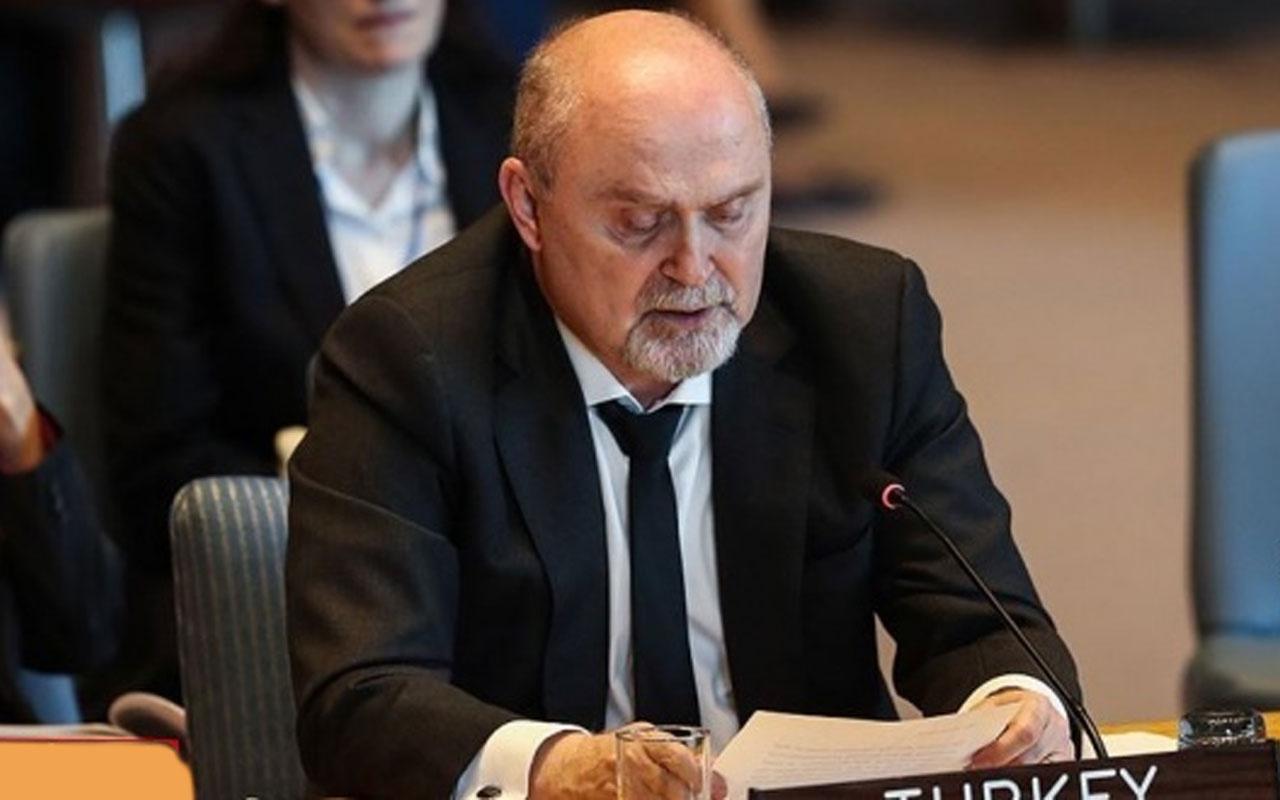 BM Daimi Temsilcisi Feridun Sinirlioğlu, Suriye temsilcisine haddini bildirdi