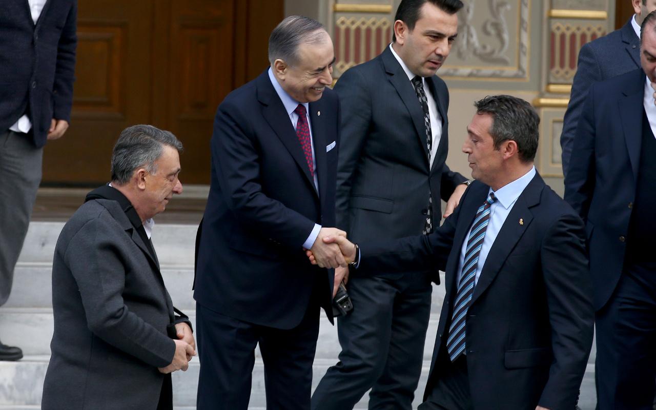 Ali Koç'la Mustafa Cengiz arasında dikkat çeken diyalog