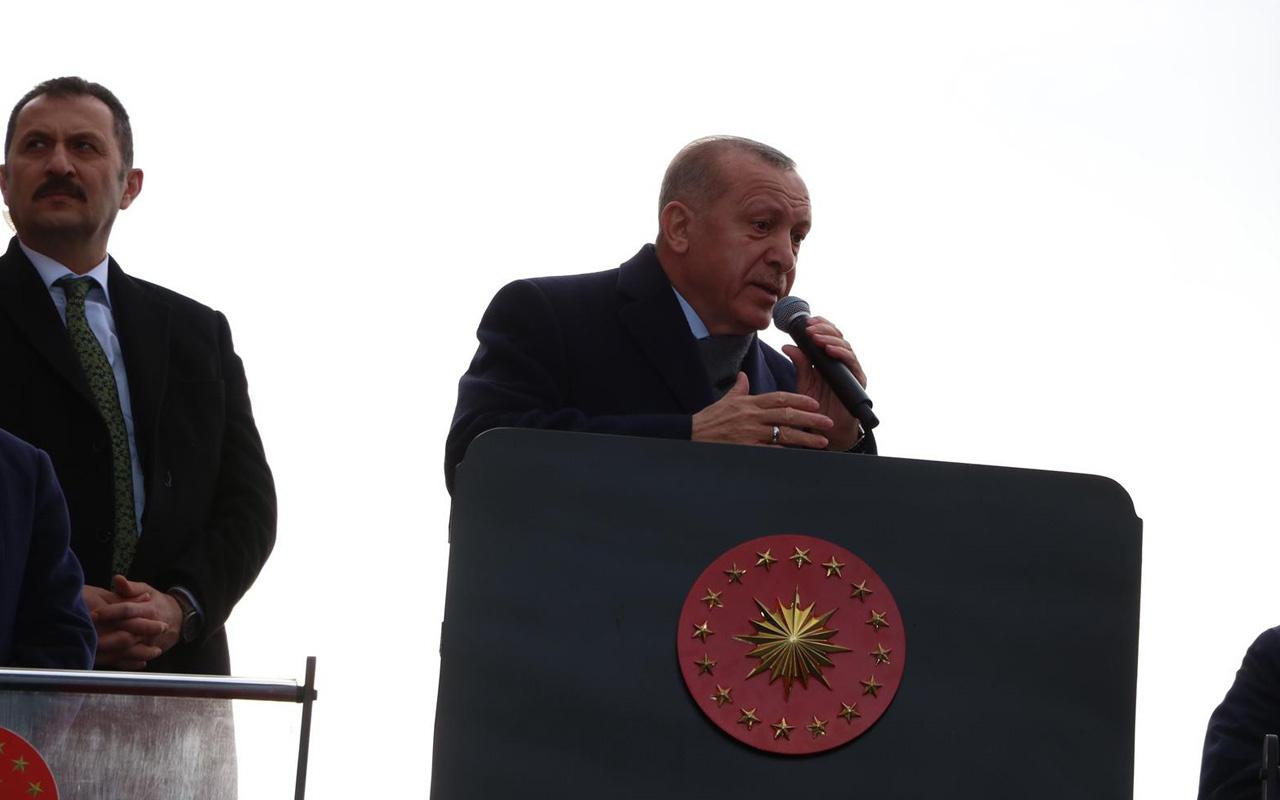 Cumhurbaşkanı Erdoğan'dan CHP''ye rüşvet tepkisi