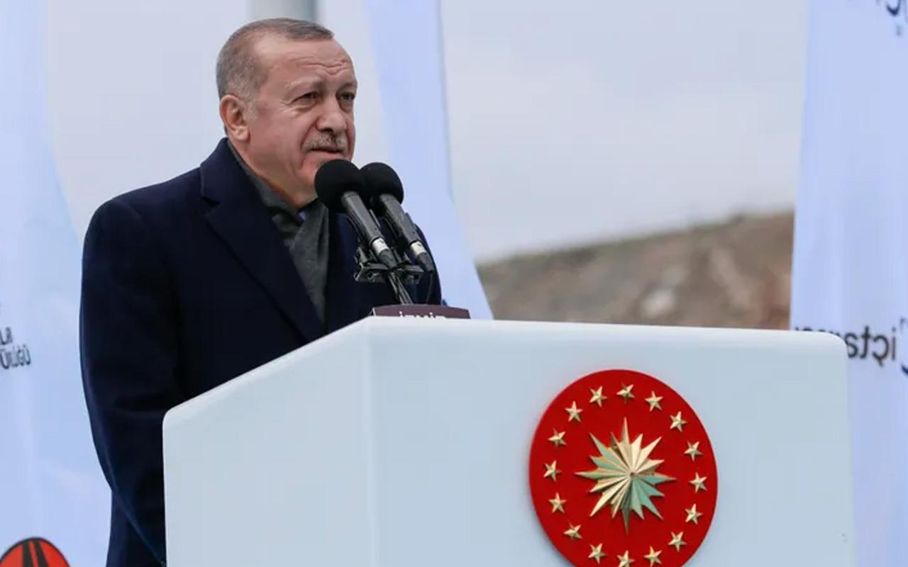 Cumhurbaşkanı Erdoğan'dan darbe söylentilerine İzmir'den yanıt geldi