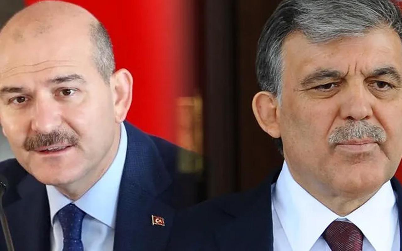 Bakan Soylu'dan Abdullah Gül'e çok sert sözler: İçime hançer gibi saplandı