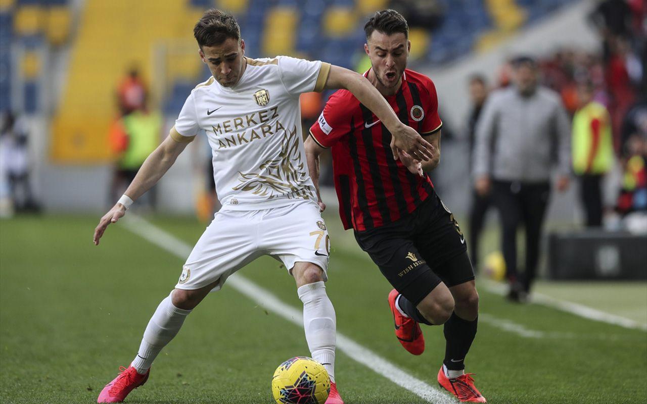 Gençlerbirliği Ankaragücü maçı golleri ve geniş özeti