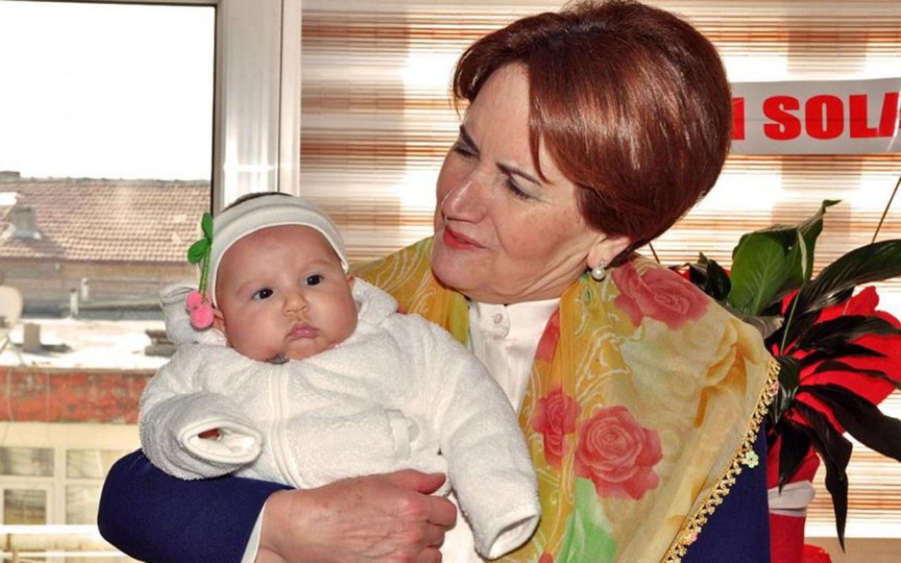 Meral Akşener ikinci kez babaanne oldu torununa hangi ismi koydu