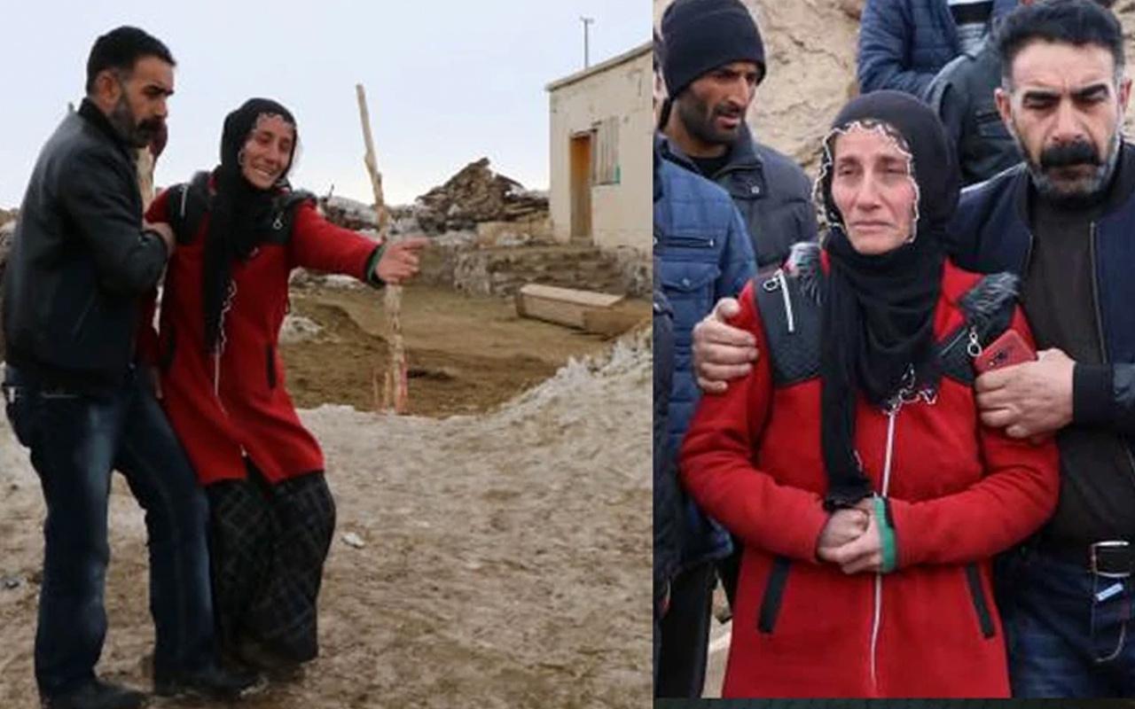 Van'daki depremden geriye kalan en acı hikaye! Eşi ve üç çocuğunu kaybetti