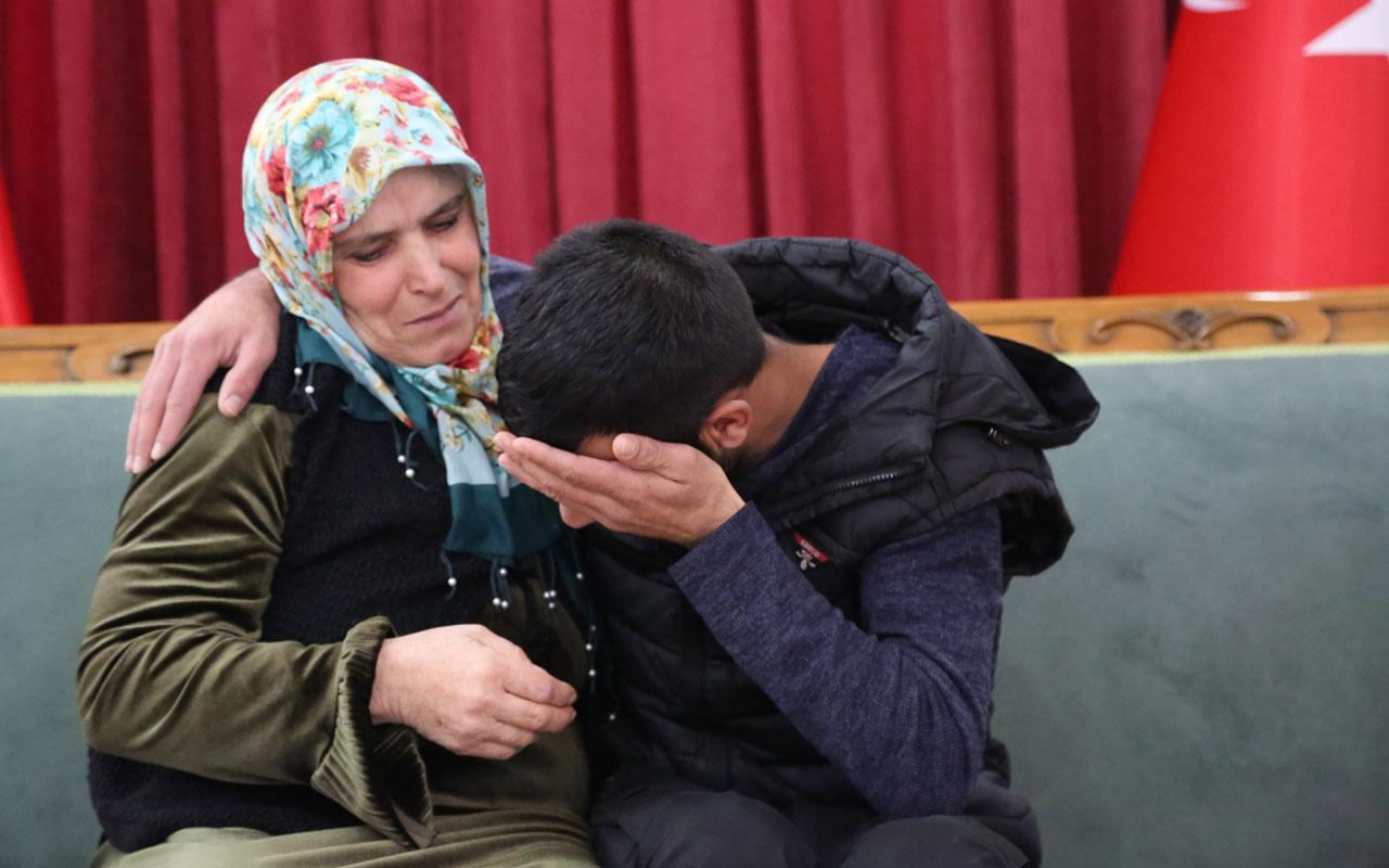 Diyarbakır annelerinden Muhteber Birlik evladına kavuştu! Haberi Bakan Soylu verdi