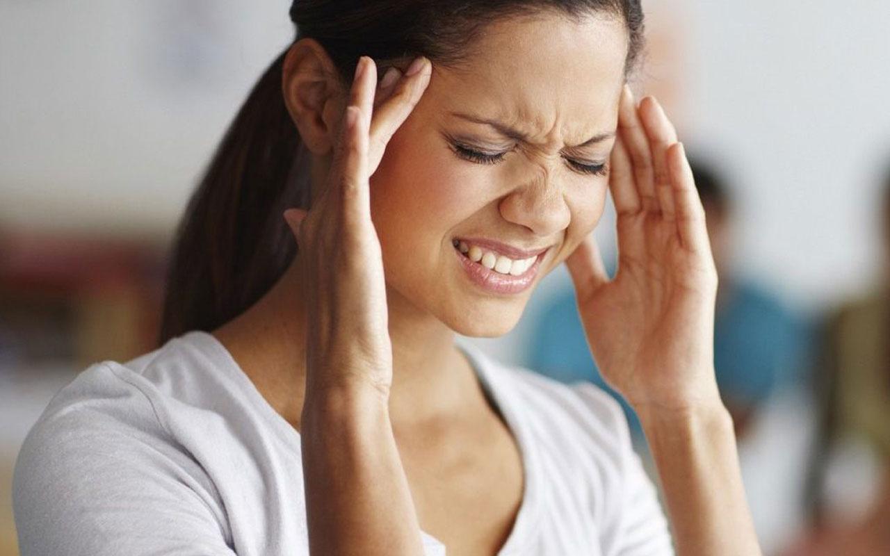 Gerilim tipi baş ağrısı migren mi kafada ağırlık hissi varsa dikkat!