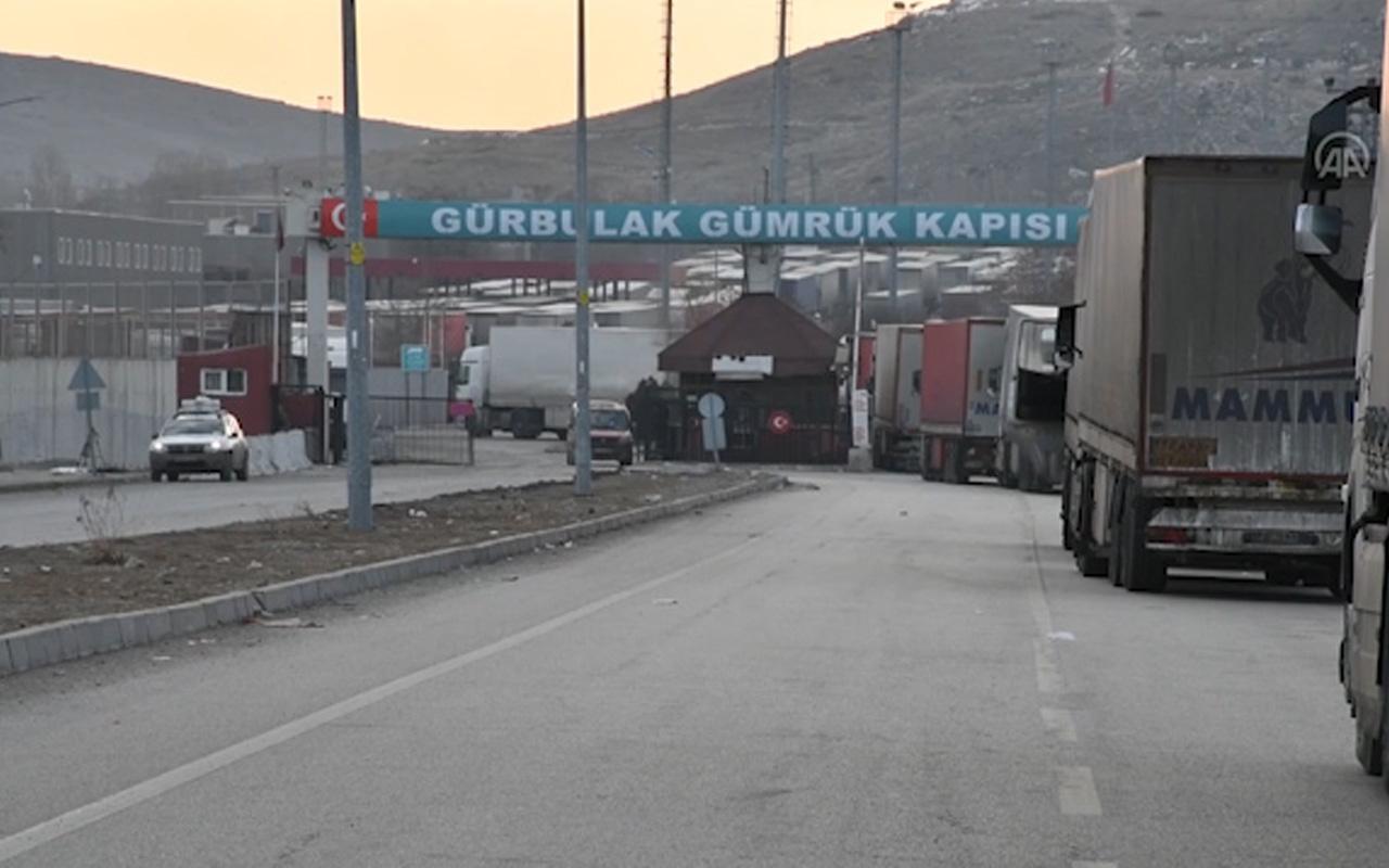Ağrı Gürbuluk Sınır Kapısı'nda koronavirüs nedeniyle termal kameralar kuruldu!