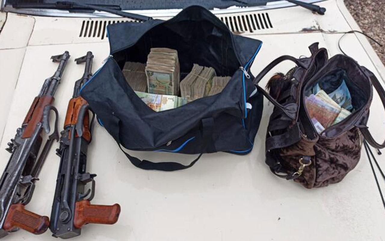 Eylem hazırlığındaki teröristler silahlarıyla birlikte yakalandı