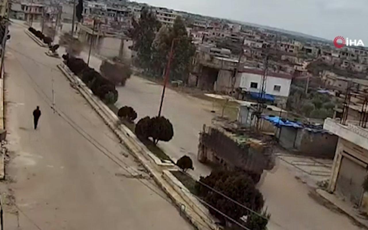 TSK'ya ait 50 araçlık zırhlı birlikler İdlib'e girdi!