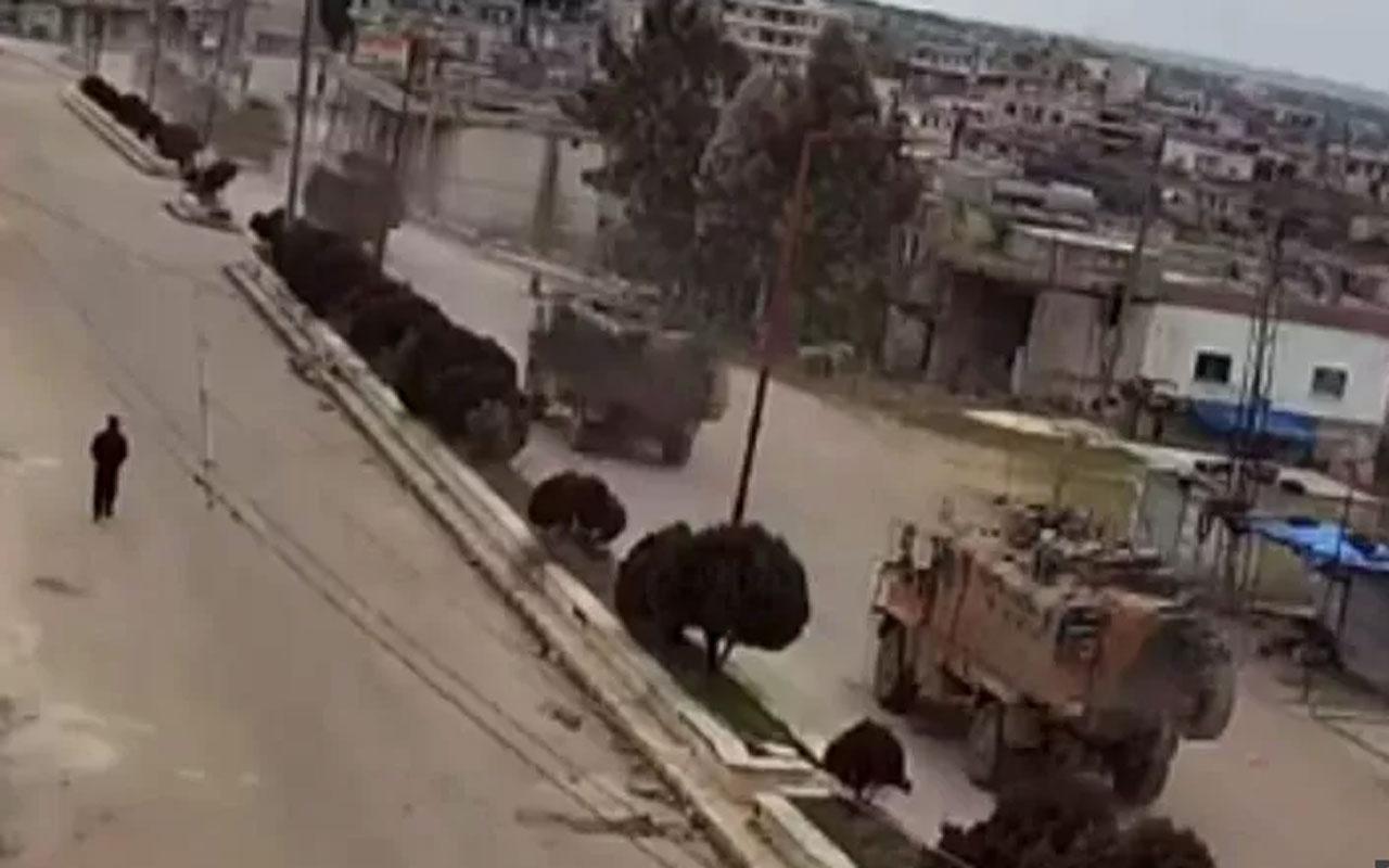 TSK 50 araçlık konvoyla İdlib'e girdi! İşte ilk görüntüler