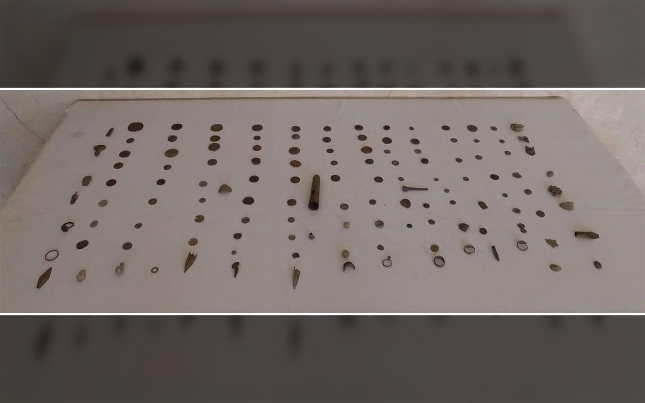 Muğla'da bir kişi üzerinde 127 parça tarihi eser ile yakalandı