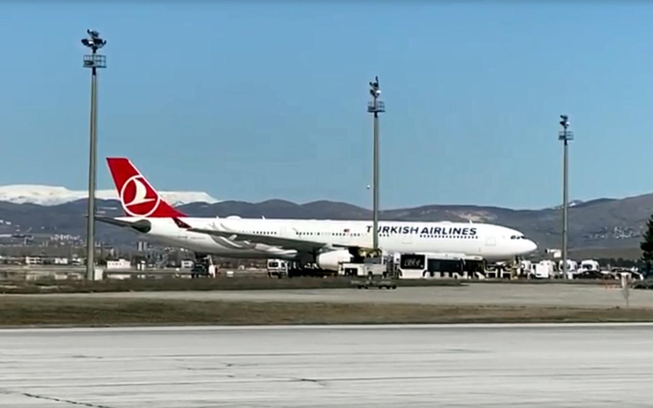 Esenboğa Havalimanı'nda koronavirüs paniği! İran'dan gelen Türkler karantinada