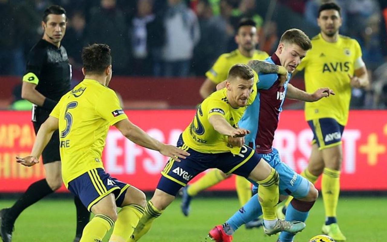 Trabzonspor'la Fenerbahçe kupada kapışacak! İşte muhtemel 11'ler