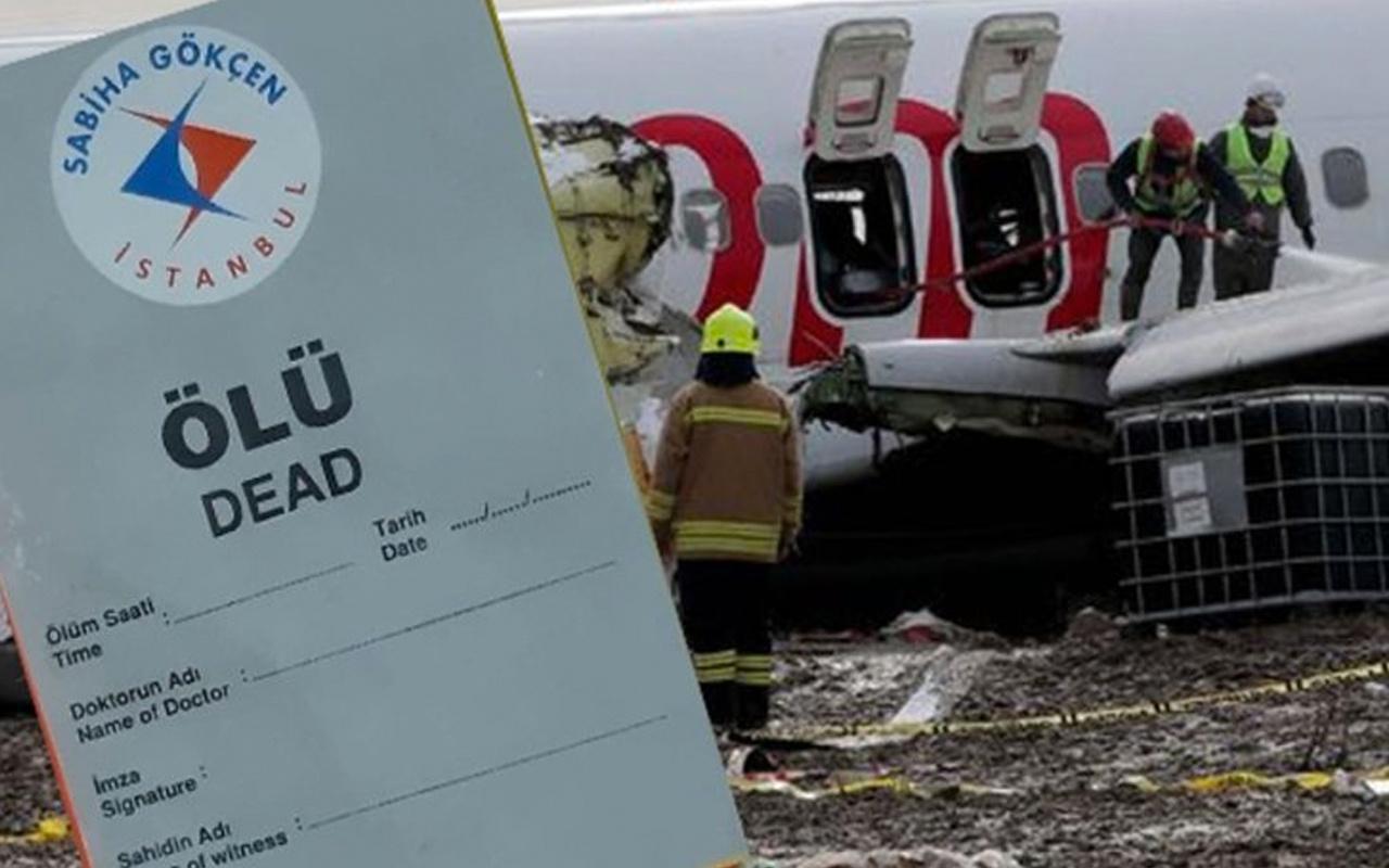 Pegasus uçağı kazasında ortaya çıkan şok detay! Yaralıya ölü etiketi yapıştırmışlar
