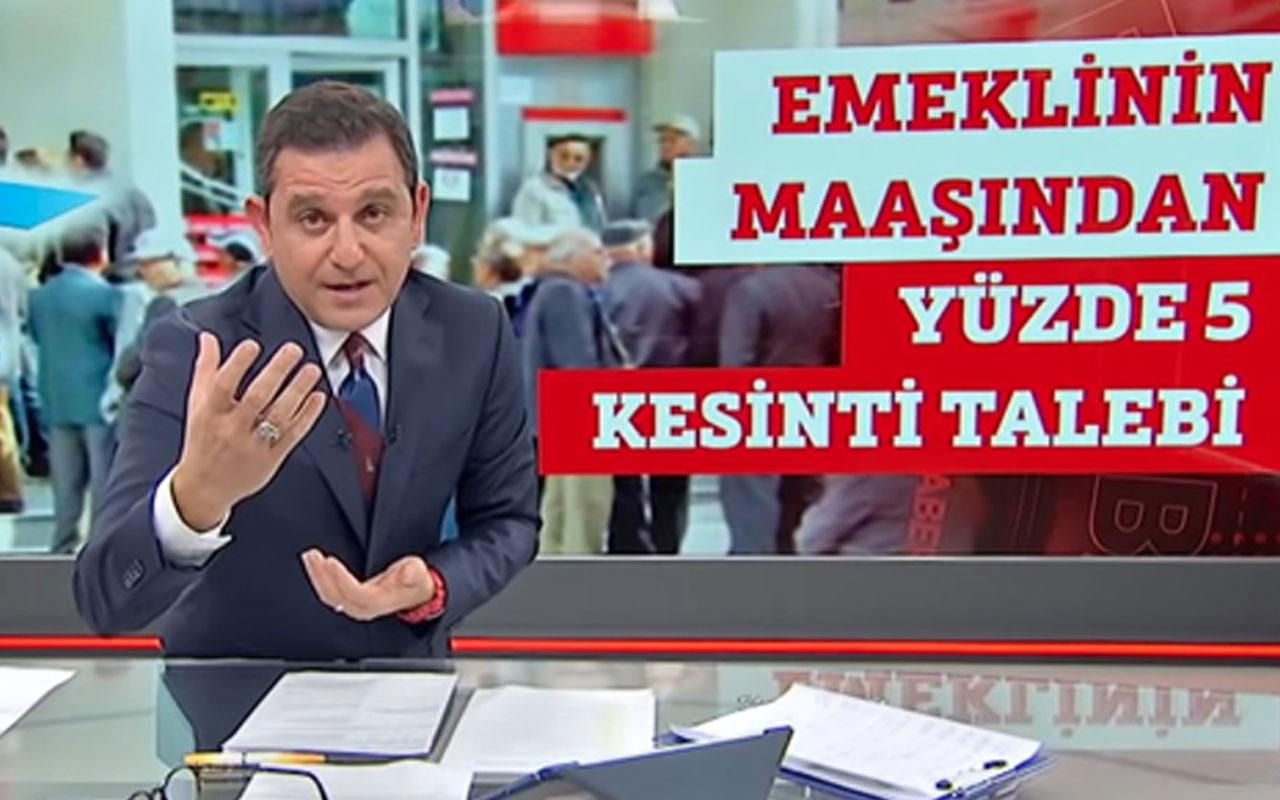 """Fatih Portakal'dan """"FOX yalan haber üretmeyi bıraksın"""" çıkışına yanıt"""