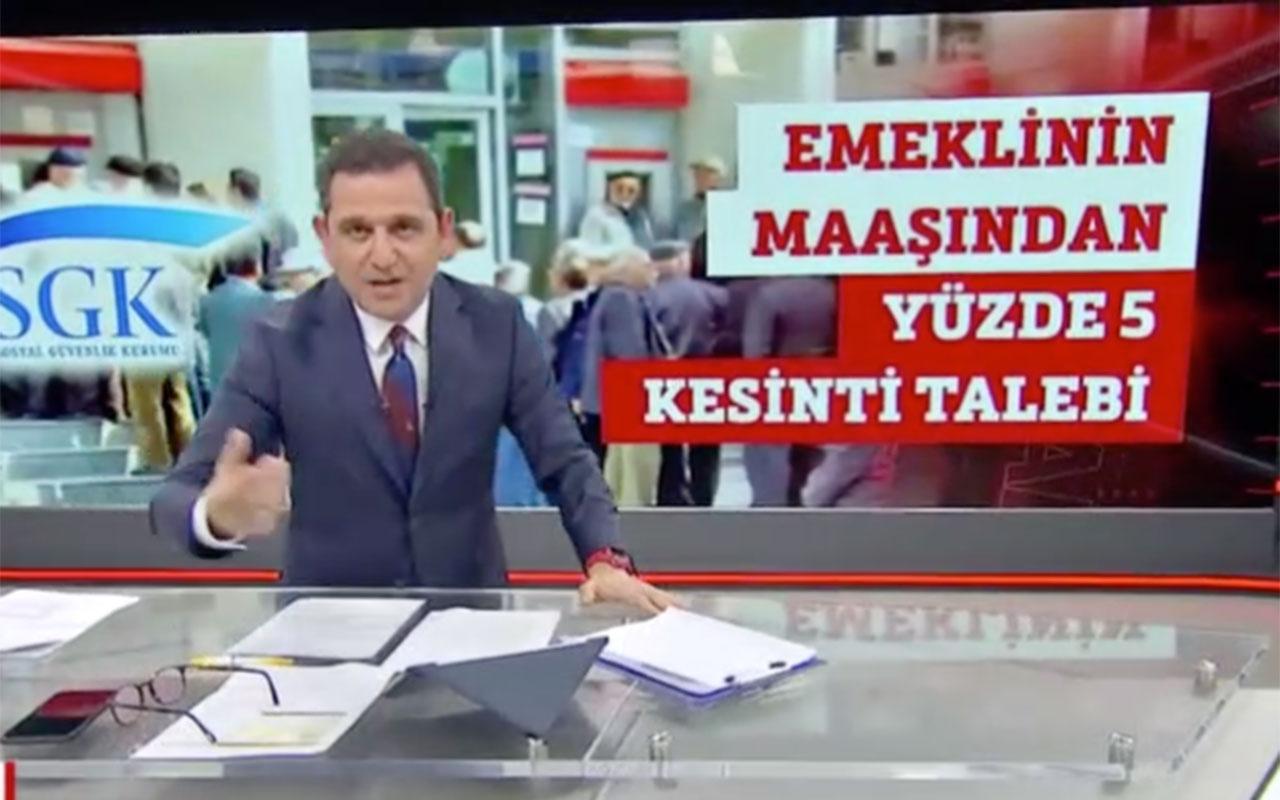 Emekli maaşları ve bayram ikramiyesiyle ilgili Fatih Portakal'dan çarpıcı iddia