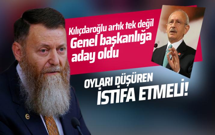 Kemal Kılıçdaroğlu'na rakip çıktı! Eski Vekil Aytuğ Atıcı adaylığını açıkladı